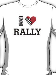 I Love RALLY (1) T-Shirt