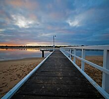 Ozone Road Jetty by Danielle  Miner