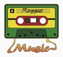 Reggae Tape Design by UncleHenry