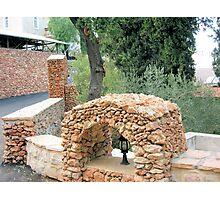 Arch of cobblestones Photographic Print
