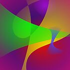 Sharp Contrast Vivid Color Abstract by masabo