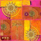 Oriental Sun by artsandsoul