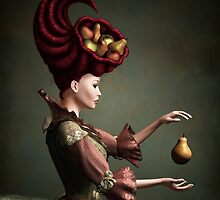 Madam Fruit and the levitating pear by Britta Glodde