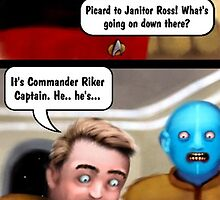 Star Trek - Janitors by Smallbrainfield