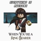 Lord of the Rings - Lego - The Ring Bearer by djprice