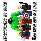 Lego Avengers by djprice