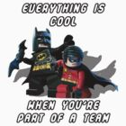 Lego Batman and Robin by djprice