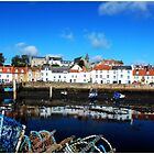 St Monan's Harbour by Francis  McCafferty This is Fife!