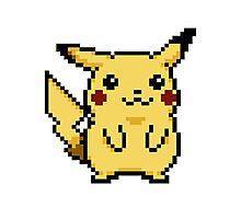 Pikachu Pokemon Yellow Edition Photographic Print