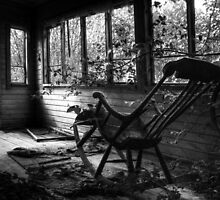 19.7.2014: Rocking Chair, Abandoned Veranda by Petri Volanen