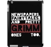 Newspapers. Fairytales. iPad Case/Skin
