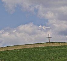 On a hill far away stood an old rugged cross by vigor