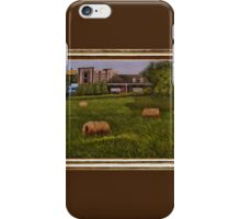 A Little Bit of Country ... with a canvas and framed look iPhone Case/Skin