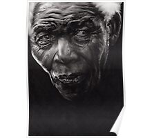 Nelson - Charcoal and Compressed Charcoal on paper Poster