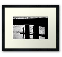 """The Swimmers"" Framed Print"