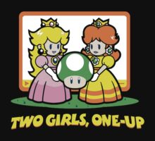Two girls one up by bluestubble