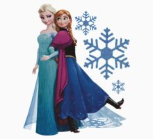 Frozen - Elsa and Anna Design by naamaparamore