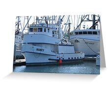 The Nancy Boat Greeting Card