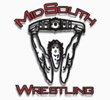 Mid-South Wrestling Logo by TruthtoFiction