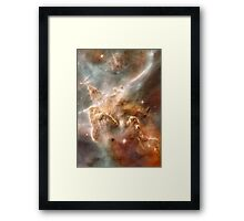 Pearl Galaxy Framed Print