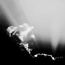 Sunbeam & Clouds by Laurie Minor