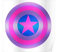 Bi Pride Shield Poster