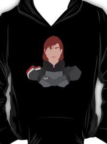 Mass Effect FemShep Minimalist T-Shirt