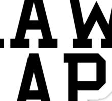 Real Raw Rap Shit Sticker