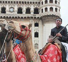 Shia Festival Charminar Hyderabad by Andrew  Makowiecki