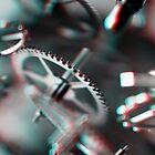 Exploding Clockwork #1 (3D) by Daniel Owens