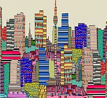 Berlin city skyline modern by bri-b