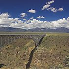 Rio Grande Gorge Bridge by Tamas Bakos
