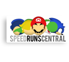 SpeedRunsCentral Official! Canvas Print