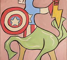 Centaur America by Russ Farris
