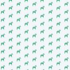 Dala Horse, Mint Green by ThistleandFox