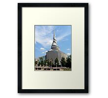 Amazing Architecture - Temple of Community of Christ Framed Print