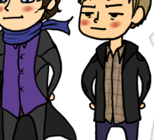 The Ambiguously Gay Duo! Sticker