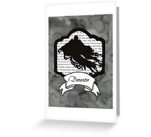 Dementor Greeting Card