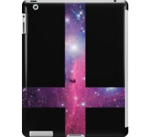 Purple Galaxy Inverted Cross iPad Case/Skin