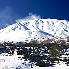 Mount Etna in Winter by Francis Drake