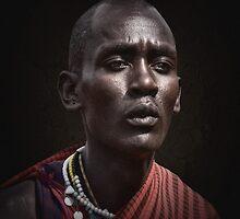 Maasai Warrior by Scott Carr