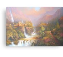 Rivendell A Hobbits Tale Canvas Print