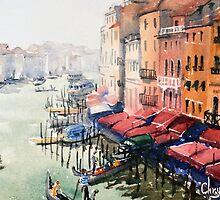Grand Canal, Venice by Chrysovalantou
