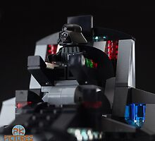 Dart Vader in his throne by Peter Kappel