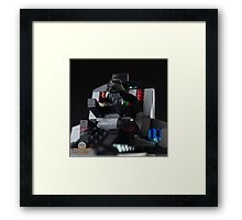 Dart Vader in his throne Framed Print