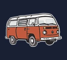 Bay Window Campervan Orange Kids Clothes