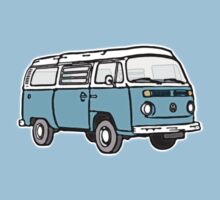 Bay Window Campervan Blue Kids Clothes