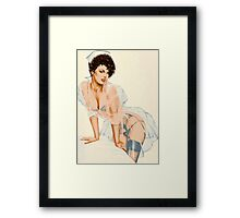 Scanty Nurse Framed Print
