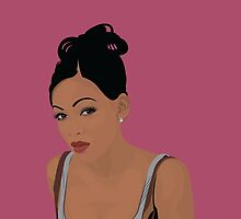 Meagan Good by Tloweart