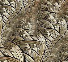 Litz Wire Abstract by John Edwards